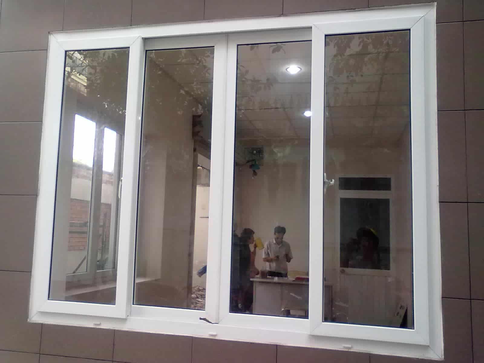 Cửa sổ nhôm mở lùa