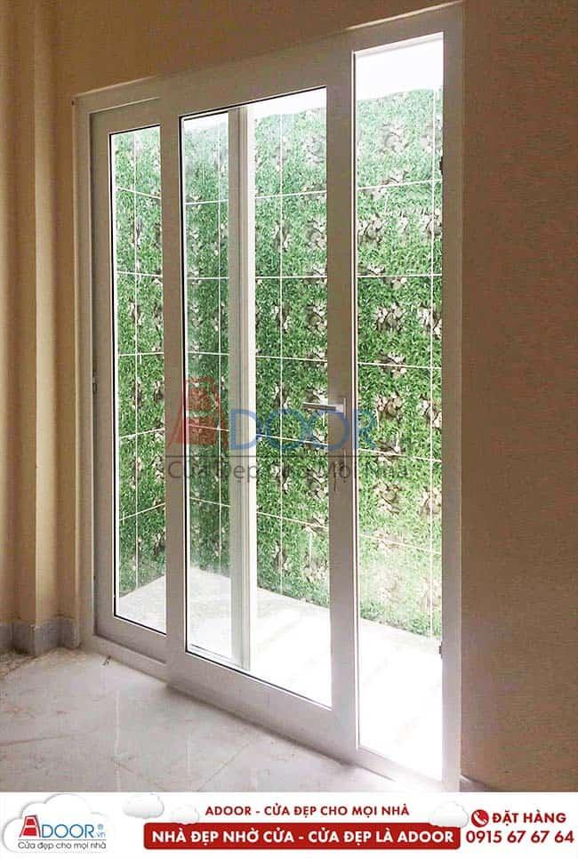 cửa nhựa lõi thép hay cửa nhôm kính