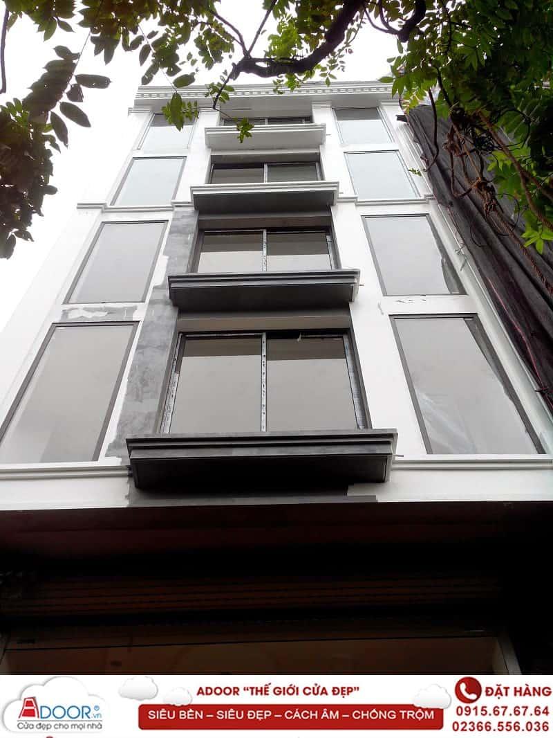 Cửa sổ nhôm 1 cánh lùa cho văn phòng công ty