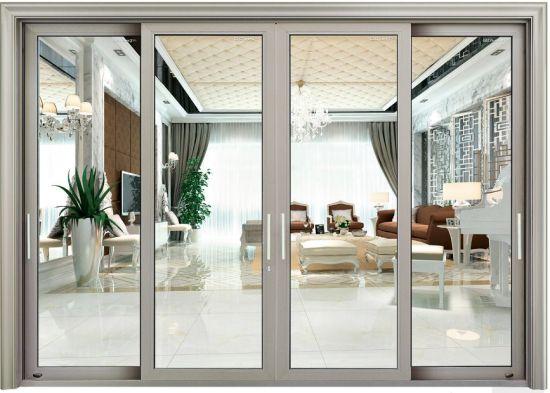 Mẫu cửa 4 cánh dạng mở lùa phòng khách tại Cần Thơ