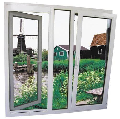 Mẫu cửa sổ nhôm mở quay đang được ưa chuộng