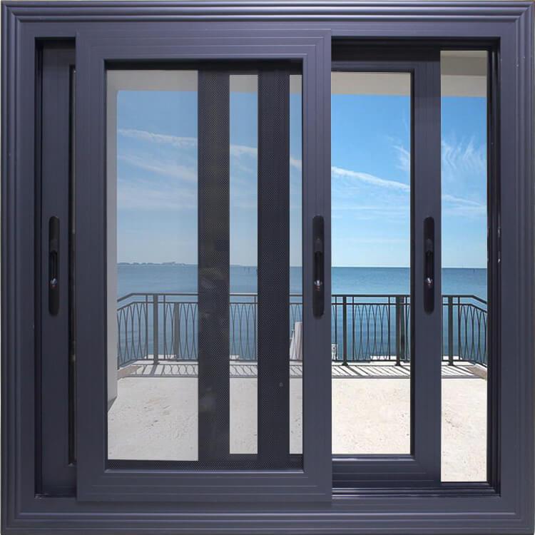 Mẫu cửa sổ lùa nhôm tại Vinh đẹp
