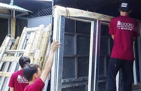 Adoor cung cấp cửa nhựa lõi thép chất lượng