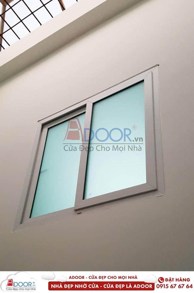 Cửa sổ lùa 2 cánh kính mù
