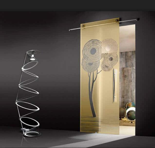 Cửa kính cường lực được nung ở nhiệt độ 650-700 độ C