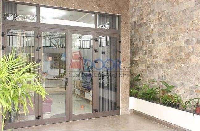 kích thước cửa 4 cánh chuẩn đẹp