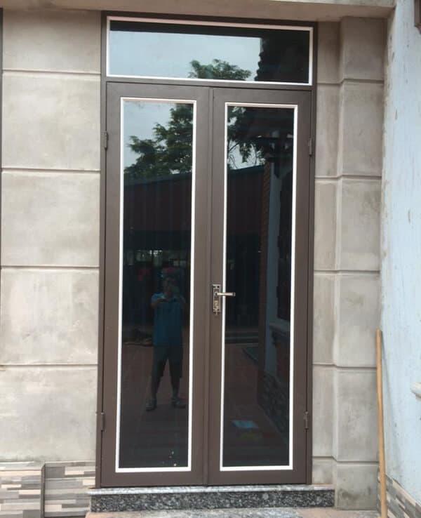 Tổng hợp mẫu cửa nhôm kính 2 cánh