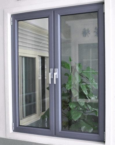 Mẫu cửa nhôm kính 2 cánh được ưa chuộng