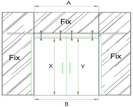 Cách lắp cửa kính cường lực lùa