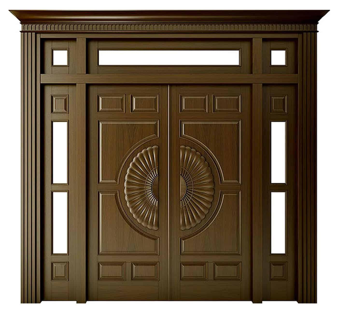 Độ thẩm mĩ cao của cửa gỗ