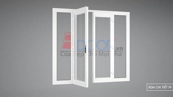 cửa đi 4 cánh mở quay