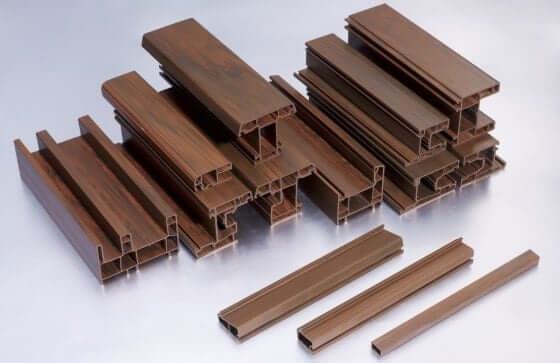 cửa nhựa lõi thép vân gỗ