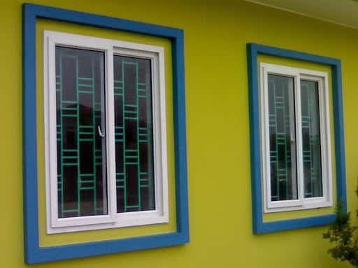 khung bảo vệ cửa sổ bằng nhôm