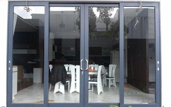 Kích thước khuôn cửa nhôm kính cho cửa đi