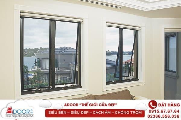 Kích thước cửa nhôm kính hệ cửa sổ