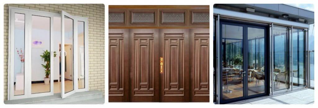 So sánh giá thành giữa cửa gỗ và cửa nhôm