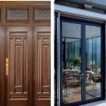 so sánh cửa gỗ và cửa nhôm
