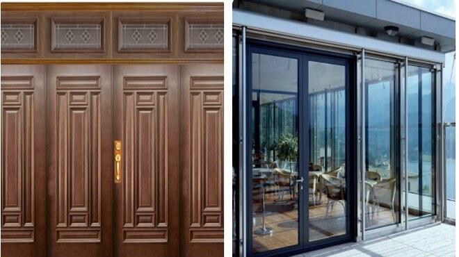 Chọn cửa gỗ thay cho cửa nhôm kính