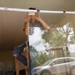 sửa chữa cửa kính cường lực