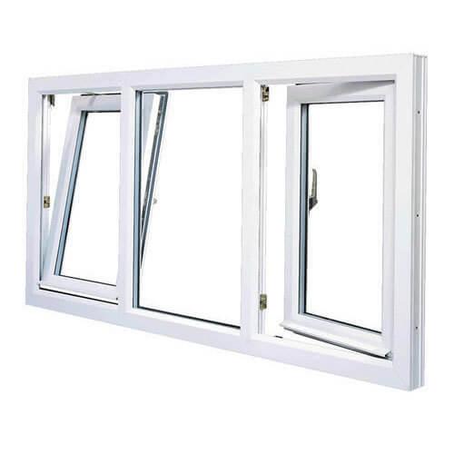 Mẫu cửa nhôm kính 3 cánh đẹp