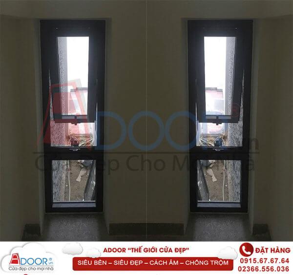 Mẫu cửa sổ mở hất