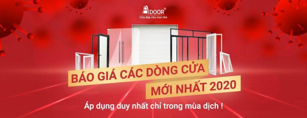 Báo giá các dòng cửa nhôm XIngfa Adoor 2020