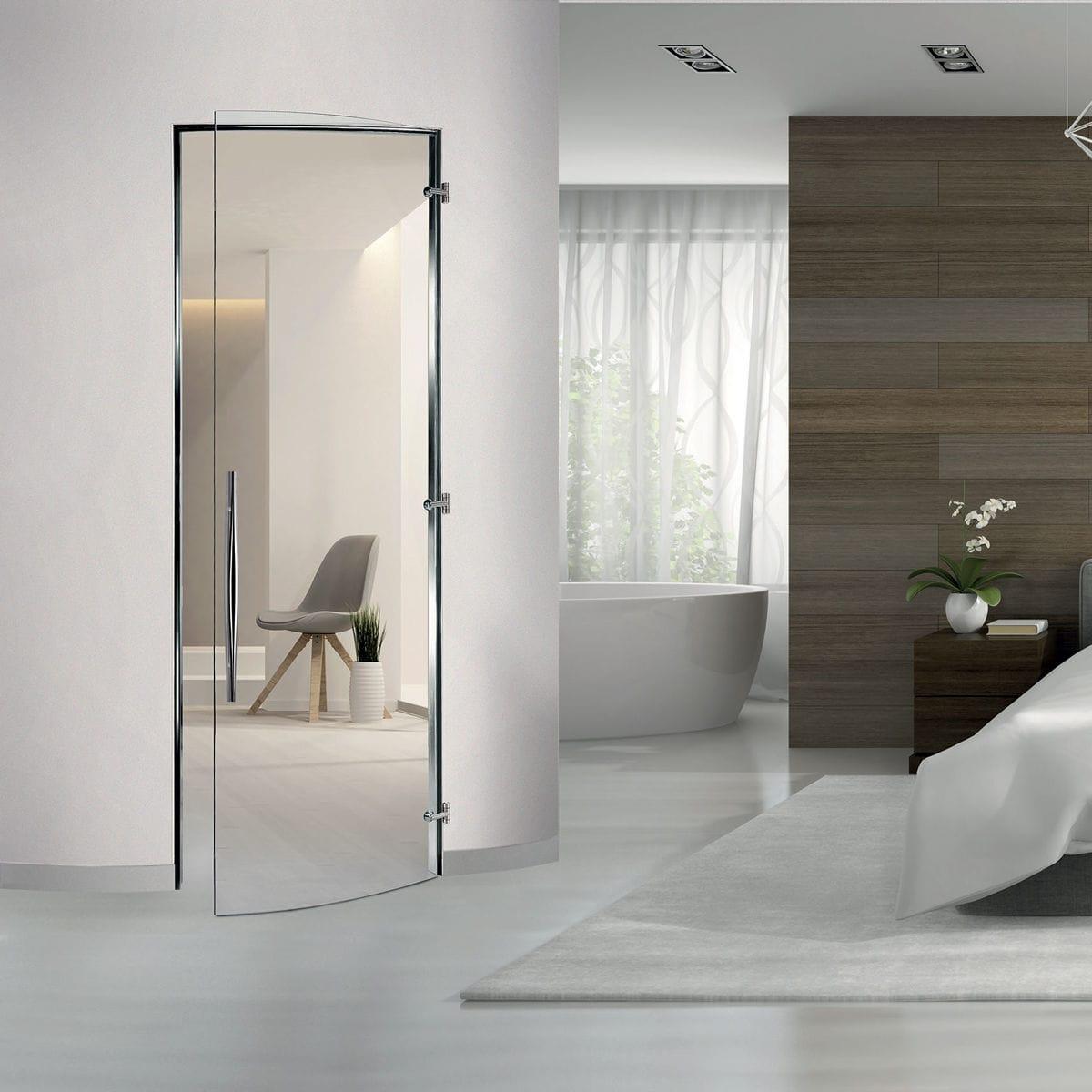 Cửa kính cường lực cho phòng ngủ đẹp