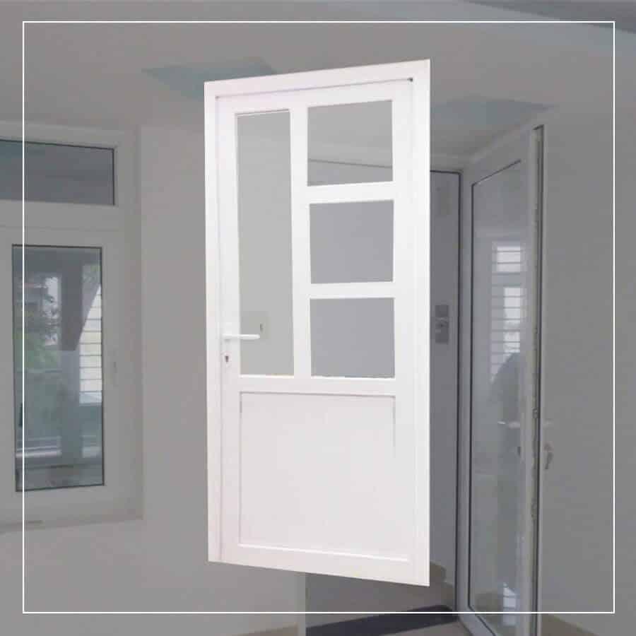 Dòng cửa nhôm thông thường phòng khách