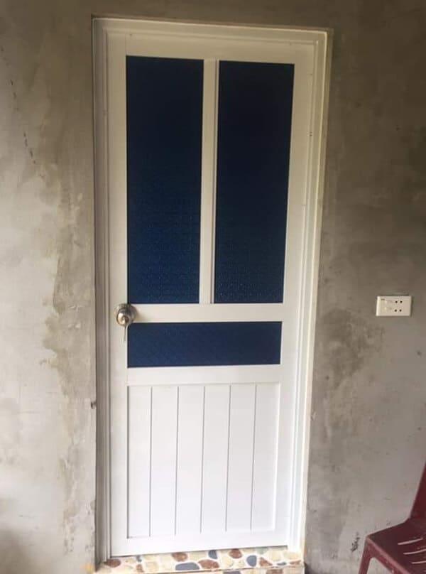 Dòng cửa nhôm thông thường cho phòng bếp