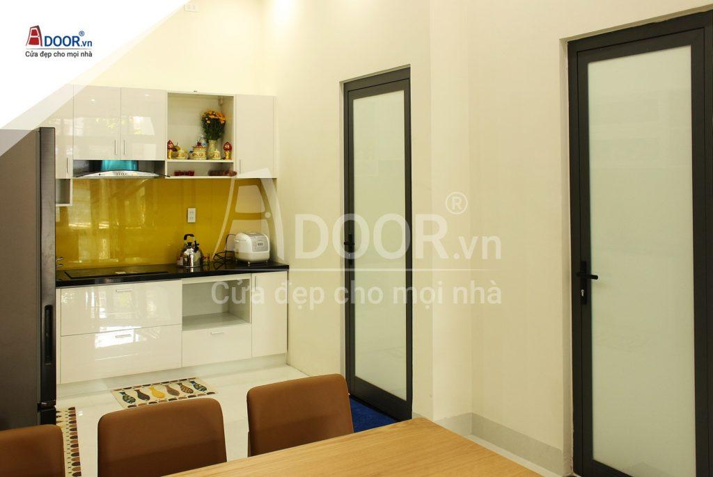 Cửa nhôm phòng bếp hiện đại
