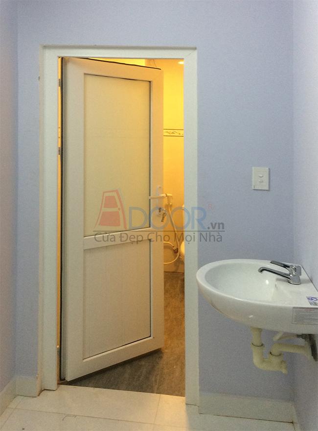 Mẫu cửa nhựa lõi thép cho nhà tắm đẹp