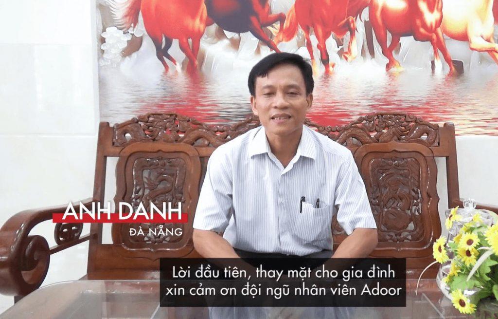 Cảm nhận của khách hàng khi mua cửa nhôm Xingfa Đà Nẵng Adoor