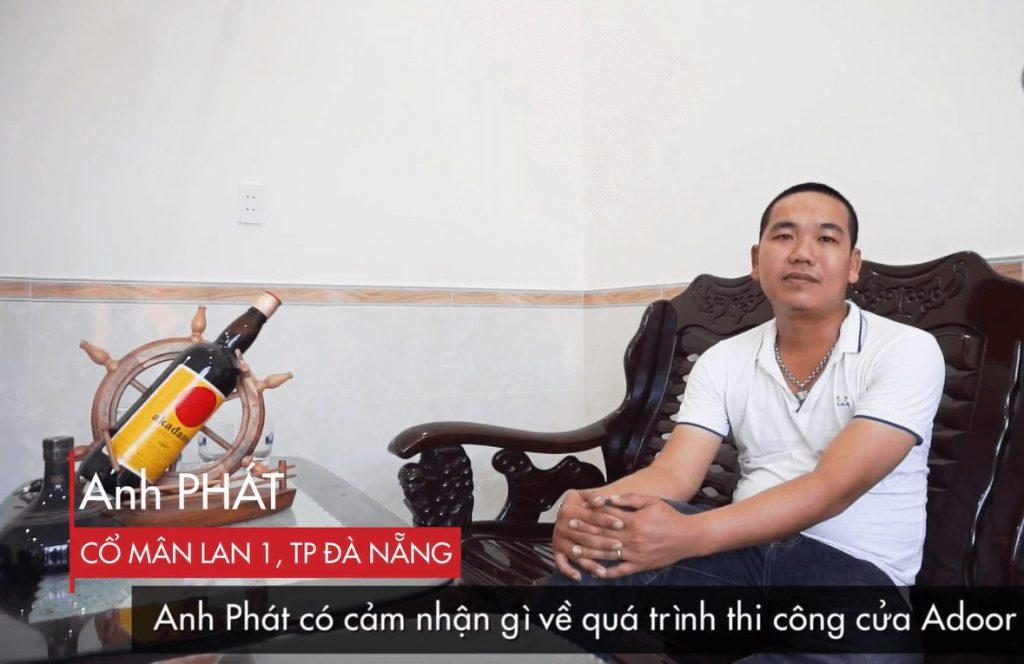 Cảm nhận của khách hàng khi mua cửa nhôm Xingfa tại Đà Nẵng Adoor