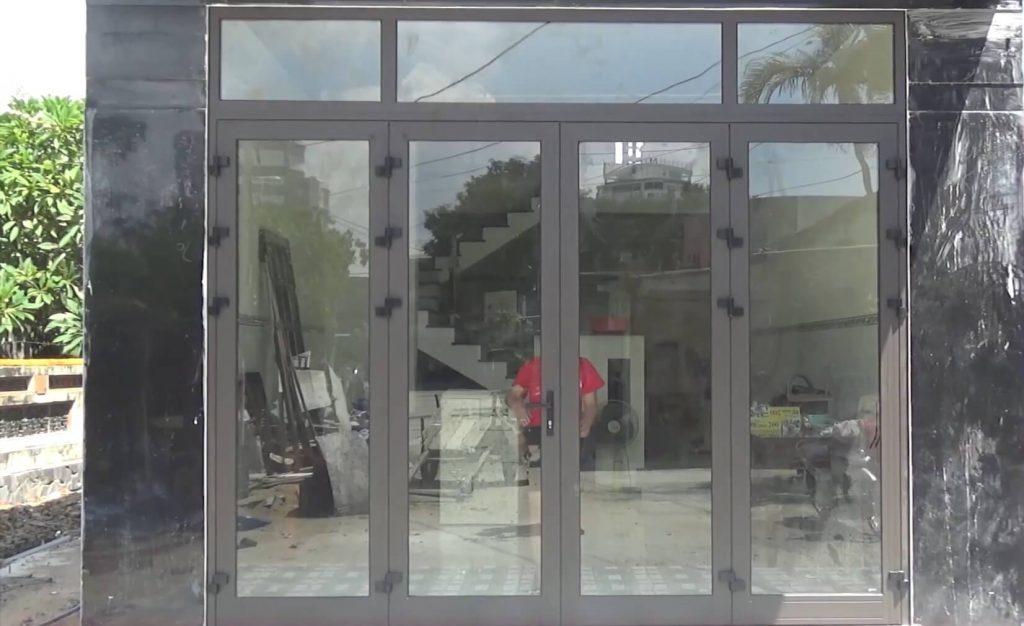 Cửa nhôm Xingfa tại Đà Nẵng nhà chị Thúy