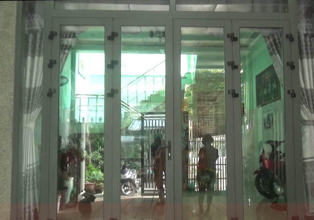 Cửa nhôm Đà Nẵng nhà chú Thu