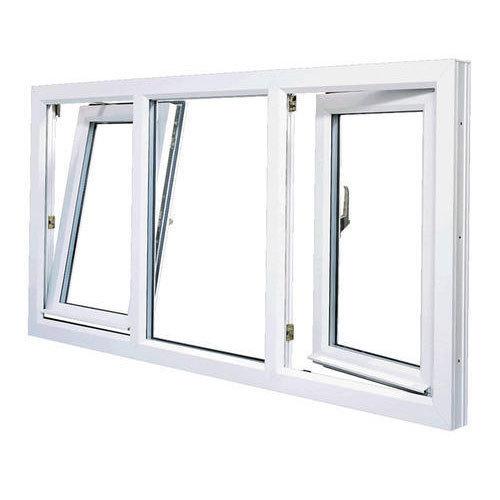 Mẫu cửa sổ nhôm Xingfa 3 cánh mở hất và mở quay