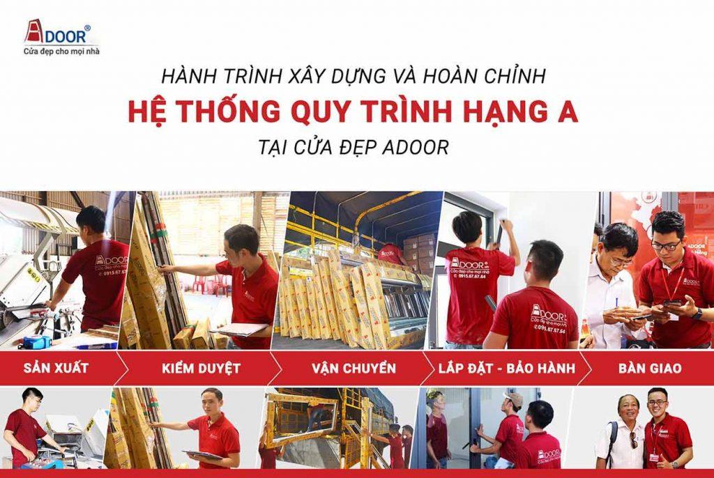 Quy trình báo giá và thi công cửa nhôm cửa nhôm Xingfa HCM