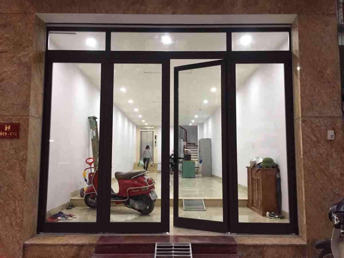 Cửa nhôm Xingfa 4 cánh phù hợp với nhiều công trình